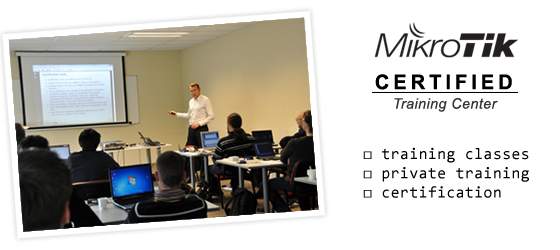 mikrotik certified training center